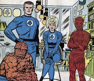 Jack kirby. fantastic four